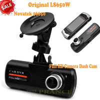 Big Promotion 100% Original LS650W Car DVR Video Recorder Full HD Camera Dash Cam+Novatek 96650+Super Night Vision+H.264+WDR