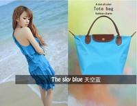 Wholesale Women's Leather Handbags Messenger Bags Shopping Totes Nylon Waterproof Beach Bags Female Designer Brand Shoulder Bags