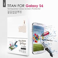 Brand Original Premium Tempered Glass Screen Protector for Samsung Galaxy S4 I9500 Protective Film GODOSMITH TITAN