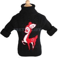 New Unisex winter autumn infant baby Cartoon sweater boy girl sweater turtleneck children outerwear B19 SV006395
