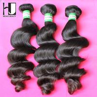 HJ Hair Brazilian Loose Wave Virgin Hair,Human hair,3pcs lot ,Grade 6A, 100% unprocessed virgin hair