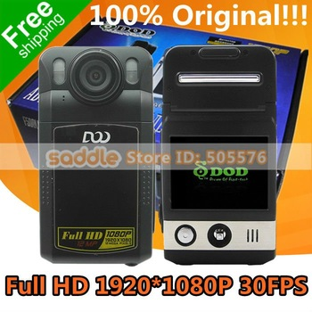 Car DVR Video Recorder DOD F500LHD 100% Original Version V5.13 T2L-GH with Ambarella + Full HD 1080P 30FPS + H.264 + 120 Degrees