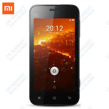 Free Shipping Original Xiaomi MI1S M1S Youth 3G Phone GSM WCDMA 1.5G Snapdragon MSM8260 Dual Core 1G RAM 8MP BSI Dual Camera