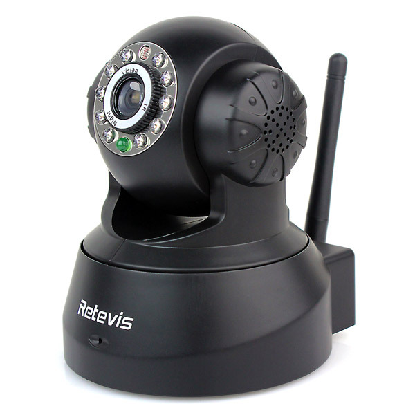 Retevis JPT3815W indoor Wireless IP Camera F9001A WiFi Security CCTV Dual Audio WPA Free DDNS 1/4 CMOS Baby Monitor(China (Mainland))