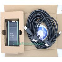 USB/MPI PC Adapter USB for Siemen S7-200/300/400 PLC,MPI/DP/PPI Programming Cable suppert Win7 64bit