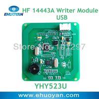 RFID 13.56Mhz ISO 14443A M1 Reader Writer  Module USB 5.0V YHY523U +SDK