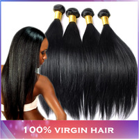 Brazilian Virgin Hair Straight 4pcs lot 400g Unprocessed Virgin Brazilian Hair Mocha Hair Products Brazilian Straight Hair Weave