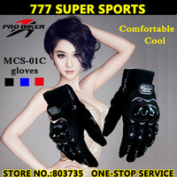 Hot Promotion Knight Motorcycle Full Finger Gloves Moto Bicycle Cycling Racing Guantes Accessories&Parts Free Shipping