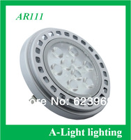 [ A-Light ]-124  free shipping LED AR111 12V 11W G53 base 30 degrees led energy saving spotlight cool/warm white wholesales