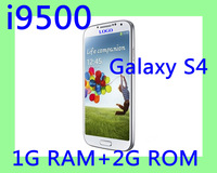 Free shipping New arrival original 1:1 Galaxy I9500 i9505 Quad Core S4 phone MTK6577 1.2Ghz Android 4.2 1GB RAM 4G ROM