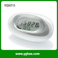 ABS 3D Sensor Multi Function Pedometer With Memory/With Detachable Belt Clip HAPTIME YGH711 Free Shipping