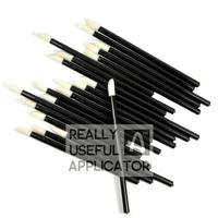 200 pcs Disposable Lipbrush Lip Gloss Brush Wands Lipstick Gloss Applicators Cosmetic Sponge Free Shipping Make Up Tool RUA LA
