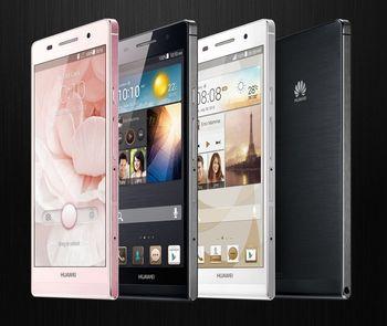 Huawei ascend P6 U06 6.1mm slim mobile phone 4.7 inch HD screen quad core 1.5GHz 2GB Ram Free shipping Russian Language Hebrew