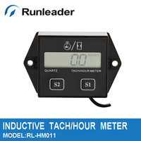 Digital  Hour Meter RPM Tachometer 250 Raptor YFM Wr Wrf Dirt Bik Motorcycle ATV Sti  Motocross Snowmobile MX pit  mower MX UTV