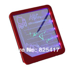 New LED Novelty Message Board Electronic Drawing Board Doodle Magic with Fluorescent Marker Pen WordPad Toys(China (Mainland))