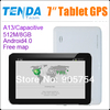 7 inch gps Navigation,HD 800*480,MTK,DDR128M,WINCE6.0,Bluetooth,AV IN,FM Transmitter,4GB,free map,navitel,car gps