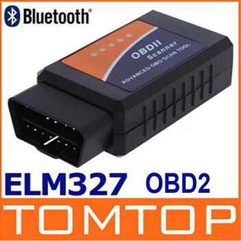 Universal Vehicle Diagnostic Tool OBD OBD2 OBD-II ELM327 ELM 327 V2.1 Bluetooth Car Interface Scanner Works On Android