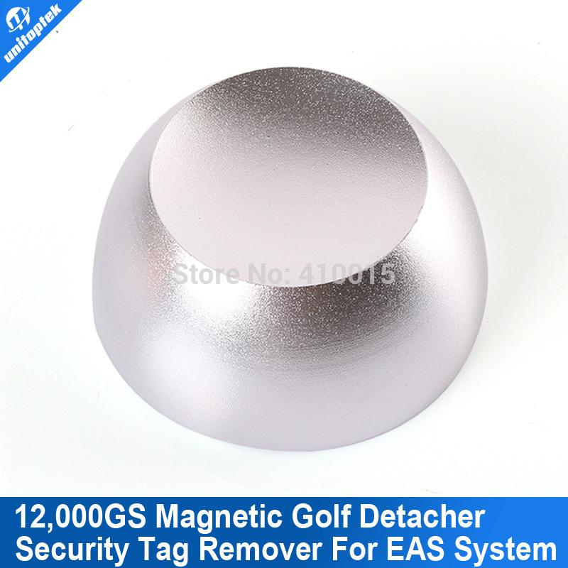 Super Golf Detacher Security Tag Detacher Golf Tag Detacher EAS Tag Remover Magnetic Intensity 12, 000GS Color Silvery(China (Mainland))