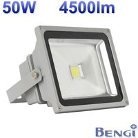 Free Shipping 50W IP65 85-265V 4500LM High Power Waterproof Floodlight with Long Lifespan High Quality LED Projection