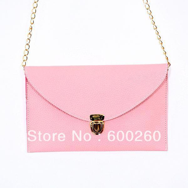 Womens Envelope Clutch Chain Purse Lady Handbag Tote Shoulder Hand Bag Free Shipping Wholesale 8530