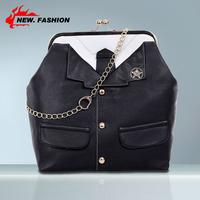 Hot Sale Fashion Vintage Lock Button Women Leather Handbag Small Lock Cross-body Chain Shoulder Bag Messenger Bags Black NO1381