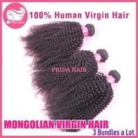 3Pcs Lot Virgin Mongolian Curly Hair Weave 8-28Inch Mongolian Kinky Curly Hair Bundles 6A Cheap Afro Kinky Curly Human Hair