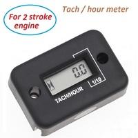 IP68 waterproof digital Hour meter tachometer tach digital hour meter for 2 stroke gasoline engine