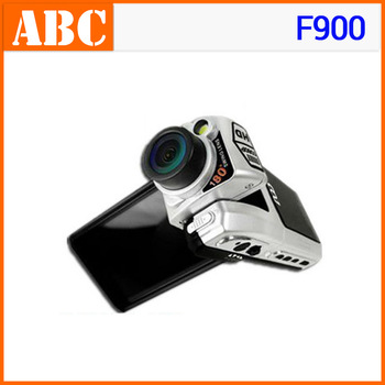 Free Shipping Car DVR F900 2.5 inch TFT Screen Maximum 1080P recorder vehicle Car Camera F900A Cycle Recording Sunplus Russian