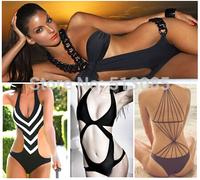 Hot Sale 2014 One Piece Swimsuit For Women, Sexy Cut Out Monokini Swimwear Bathing Suit, one_plus bodysuit