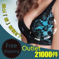 NEW 2013 sexy lace push up bra size 34 36 38 40 B C D E F CUP evening dress plus size lingerie bra the  underwear embroidery