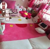 Valentine's Day gift.Pink HelloKitty Double Bed Children's hello kitty Sleeping Bag Cartoon Sofa Tatami mattress,FREE SHIPPING