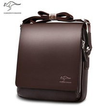 men messenger bags, big promotion genuine Kangaroo leather shoulder bag man bag casual fashion ipad briefcase, free shipping(China (Mainland))