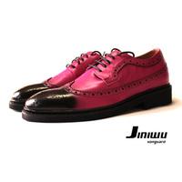 size37-45 2013 men's  thom browne chromic powder black toe cap lacing shoes male spring lacing britsh styel skeat board shoes !