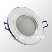 1X 3*1W Downlights CREE LED 120Degree AC85-265V Silver Fixture