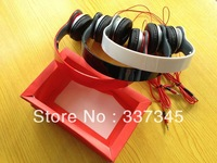 FREE SHIPPING Trend mp3 mp4 earphones 3.5mm computer headset earphones folding mobile phone headphones  7color