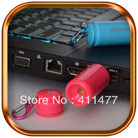Hotest!!Second Geration Rechargable Mini USB Led Torch With Hook, Waterproof Led Torch,Multicolor Torch, Free Shipping