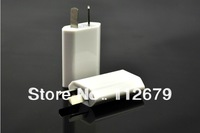 DHL Free Shipping Australia Plug 5V 1A USB Home Wall Charger Power Adapter For iPod iPhone 3G 3GS 4G 4S 5G Free Shipping