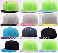 Special Colors-High Quality Flat Bill Hip Hop Baseball Snapback Cap Hat