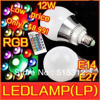 cristmasOnly $8.9 Innovative items 85-265V RGB LED Lamp 12W E14 E27 led Bulb Lamp with Remote Control led lighting free shipping