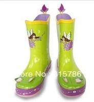 Free Shipping faery design kids lovey umbrellas children rainboots,children bag,children rain coat branded rain tool