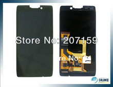 DHL 10pcs/lot!!Shipping free Wholesales repair parts half front LCD+digitizer for Motorola XT925 XT926 ( black and white)