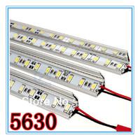 Big Discount ! 30M/Lot, DC12V 72 LED/M Non Waterproof SMD 5630 Led Rigid Strip Bar Lights 1M/pcs