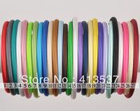 60 pcs Free Shipping Boutique Satin Headband for babyies
