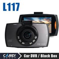 2014 New Car DVR Camera 2.7 Inch 170 degree Wide Angle HD1080P car cam L117