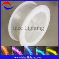 Hot sell 0.75mm decorative Plastic Optic Fiber