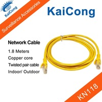 Network Ethernet Cable Patch 1.8 Meters Surveillance And Security Accessories High Quality Network Cable KaiCong  KN118