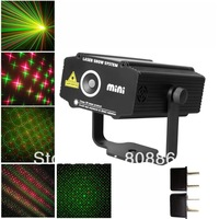 2013 new version Mini 4 patterns R&G Projector Laser Stage Disco DJ Club family party light SHOW p4S free shipping
