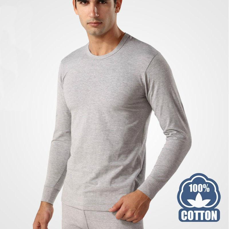 -Free-shipping-men-s-Cotton-Thin-thermal-Long-Johns-Set-Underwear ...