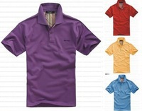New Arrive Free Shipping   Fashion and Casual  Men's Polo T-Shirt  10colors 1pc/lot  Men Style