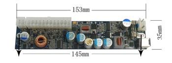Free shipping!!!!! Z2-120 w power 24pin ATX - 120 mini - ITX DC ATX power supply